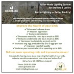 Tailor­Made Lighting System for Broilers & Layers