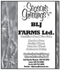 Season's Greetings from BLJ FARMS