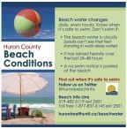 Huron County Beach Conditions