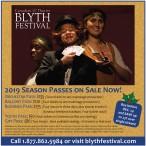 2019 BLYTH FESTIVAL SEASON PASSES ON SALE NOW!