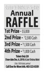 Castor & District AG Society Annual RAFFLE
