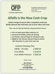 Ontario Forage Processor offers competitive multi year alfalfa contracts