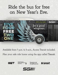 Ride The Bus For Free On New Year's Eve