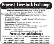 The Livestock Market Serving Eastern Alberta and Western Saskatchewan